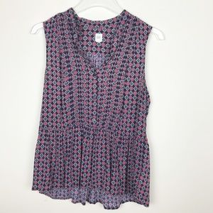 GAP Sleeveless Top Size Small